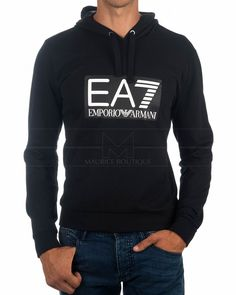 Sudaderas ARMANI EA7 ® Negro | BEST PRICE