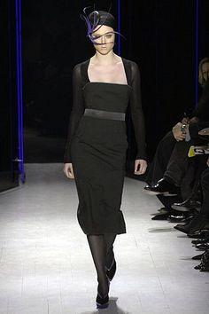Donna Karan Fall 2007 Ready-to-Wear Fashion Show - Coco Rocha