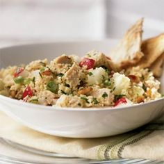 Chicken and Couscous Salad | MyRecipes.com  #MyPlate #protein #grain #vegetable