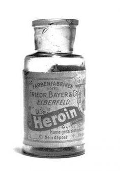 Garrafa de heroína