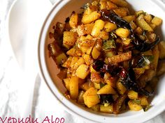 Vepudu Aloo – Potato Stir fry in spices from Flavors of Mumbai