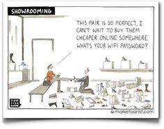 El showrooming y el webrooming planteados como la guerra de los mundos #comerciolocal vía @Enrique Dans