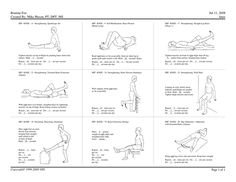 spine rehabilitation program post surgery pdf