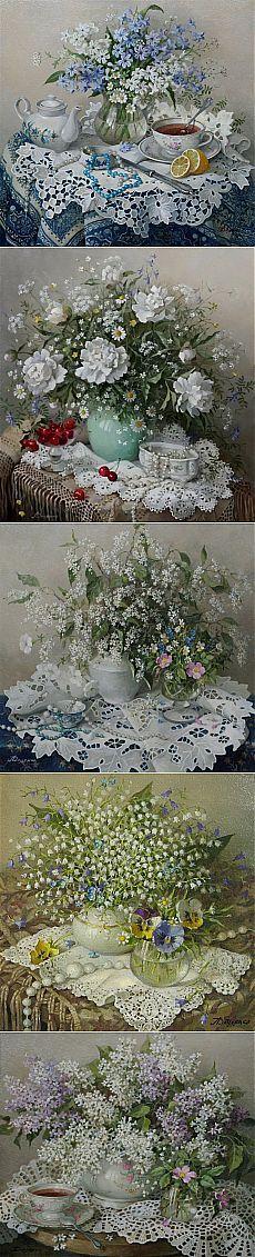 Нежные картины Лидии Даценко.