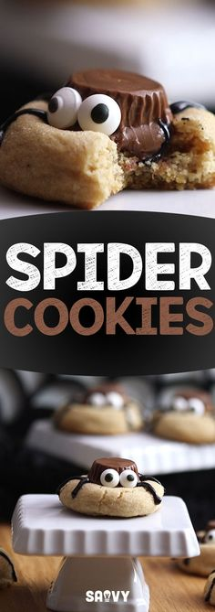 Whoever said spiders aren't cute has clearly never made these cookies! Spider Cookies are just what you need for your Halloween parties and events. They're delicious, adorable and easy to make. Don't forget to share this recipe with all your Halloween loving friends!