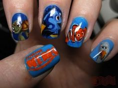 Nemo nails....this would take forever to do