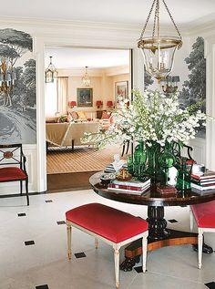 Photo by Douglas Friedman; interior by Alessandra Branca