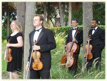 string quartet for wedding?  Oh Yes!