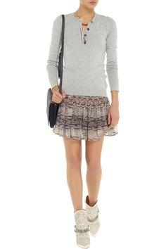 Isabel MarantOrka fine-knit sweaterfront
