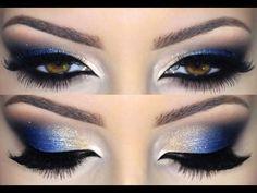 Μπλε μακιγιάζ ματιών: Μια από τις κορυφαίες τάσεις του καλοκαιριού μέσα από 7 υπέροχα μακιγιάζ | Beauté την Κυριακή