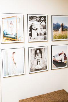 Picture Frame Wall For The Home Fotowand Gestalten Bilderrahmen Wande Haus Deko