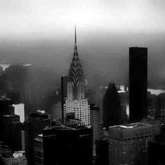 A black and white New York City ❤