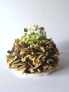 Nachos? Or Cake? Nachos, Stuffed Mushrooms, Cupcakes, Herbs, Candy, Chocolate, Vegetables, Food, Stuff Mushrooms