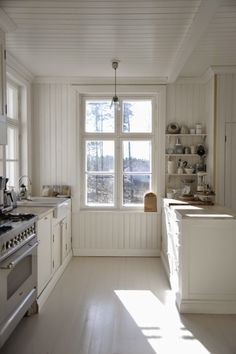 Scandinavian Farmhouse Design Ideas - The idea was supposed to make it resemble a European style kitchen. Besides below ideas, you can try out the other suggestions to fit your needs for a. by Joey Industrial Style Kitchen, Rustic Kitchen, Kitchen Decor, Industrial Design, Vintage Industrial, Swedish Kitchen, Country Kitchen, Kitchen Ideas, Cottage Kitchens
