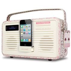 limited edition Emma Bridgewater iPod dock <3