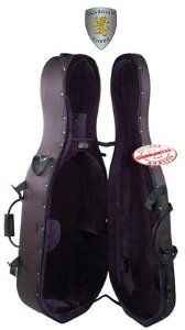 Guardian Featherweight Cello Case 3/4 by Guardian. $209.00. Guardian Featherweight Cello Case CV-013-C. The German-designed featherweight case line provides better protection than most hardshell cases. All cases use a combination of high-density polystyrene and soft padding to provide maximum impact resistance.. Save 42%!
