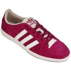 Tênis Adidas Court Side Low W – Pink e Branco - http://batecabeca.com.br/tenis-adidas-court-side-low-w-pink-e-branco-netshoes.html
