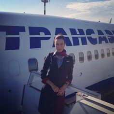 Transaero Stewardess