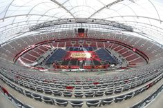 National Stadium Warsaw ready for opening match of the FIVB Men's World Championships http://poland2014.fivb.org/