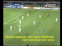 Análise Tática - Barcelona 4x0 Santos 1º Parte -  clubs worldcup final.  tikitaka em posse, jogo compacto, pressão alta sem posse. linhas de passe.