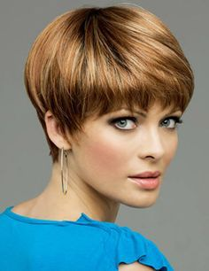 Short Hair - like style & color.                                                                                                                                                      More