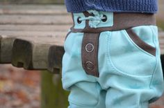 Sewing Pattern Children 's Trousers Sewing the Sequins from Sweat - Picture 4    Textilesucht.de