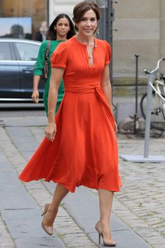 Crown Princess Mary beats Kate Middleton to be named most stylish royal - hellomagazine.com 2013
