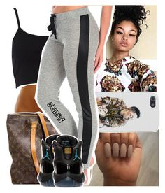 """""""i fumbled ya heart➰"""" by lamamig ❤ liked on Polyvore featuring River Island, Louis Vuitton, Vintage Havana, Retrò, women's clothing, women, female, woman, misses and juniors"""