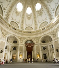 Hofburg Palace, Vienna, Austria - where Marie Antoinette grew up.  Sumptuous architecture.