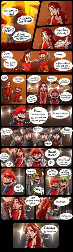 Super Mario's Stories - Part 7 by LC-Holy on DeviantArt Mario And Luigi Games, Mario Bros., Mario Kart, Sonic Nintendo, Nintendo Super Smash Bros, Nintendo Games, Video Games Funny, Funny Games, Super Mario Art