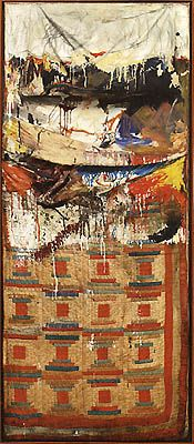 The King of Mix Media!   And his alter! Rauschenberg!