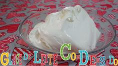 Glacê de leite condensado