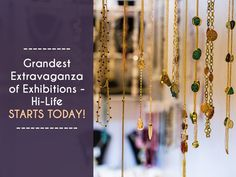 Grandest Extravaganza of Exhibitions - Hi-Life starts. Date- 21-22 September, 2017 Time- 10:00AM to 8:00PM Address- The Grand Bhagwati, S.G. Road, NH 8C, Ahmedabad  #Exhibition #Fashion #Lifestyle #Clothing #Accessories #Jewellery #HomeDecor #HiLifeExhibition #TheGrandBhagwati #CityShorAhmedabad