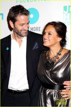 Mariska Hargitay and husband Peter Hermann