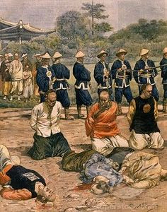 Boxer Rebellion executions - Google Search Military Art, Military History, Boxers, Taiping Rebellion, Boxer Rebellion, Military Drawings, Asian History, American War, World War One