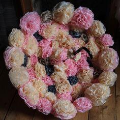 Brollies, Paper Flowers, Bloom, Pearl, Create, Rose, Pink, Bead, Roses