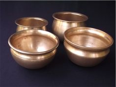 Vengala Panai-Antique Brass and Bronze Curry Cooking Pots