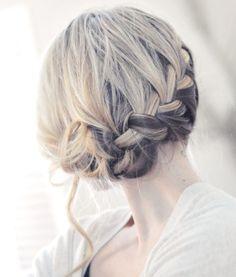 Eingeflochtene Haarpartien-Arten zum Flechten-Ideen