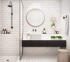 Been wanting to redo your bathroom? Here's a little inspiration. Start planning that next home project to increase home value!