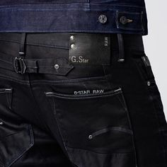 G-Star RAW | Men | Jeans | Blades Slim Tpd, Comfort Slander Dnm, Dk Aged