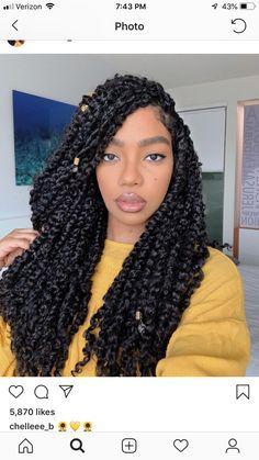 Box Braids Hairstyles, Twist Hairstyles, Summer Hairstyles, Pretty Hairstyles, Black Hairstyles, Teenage Hairstyles, Hairstyles Videos, Hairstyles 2016, Pelo Natural
