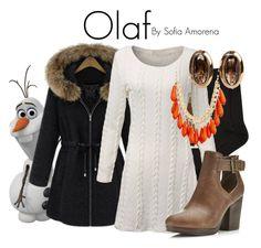 Designer Clothes, Shoes & Bags for Women Frozen Clothes, Frozen Outfits, Disney Bound Outfits, Disney Inspired Outfits, Themed Outfits, Disney Style, Tv Show Outfits, Fandom Outfits, Stylish Outfits