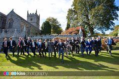 Lanhydrock church; The lads !