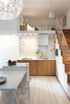 54 Awesome Tiny Loft Apartment Design Ideas 54 Awesome Tiny Loft Apartment Design Ideas A attic flat is a sizable flexible open space, frequent Loft Apartment Decorating, Apartment Design, Apartment Ideas, Micro Apartment, Apartment Layout, Apartment Living, Small Loft Apartments, Tiny Loft, Tiny House Loft
