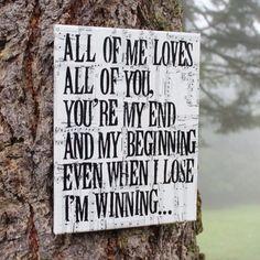 "John Legend ""All Of Me"" Lyrics"