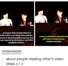 Dan is more protective over Phil than Phil,I love it