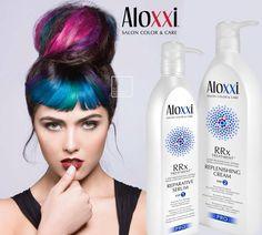 Da oggi il Servizio Speciale Collagene ha un nuovo nome: RRx by AloXXi! Tutte le proprietà rigeneranti e nutrienti per capelli deboli e sensibilizzati in un trattamento potenziato con estratti naturali e cruelty free. RRx è l'evoluzione del classico Collagene, da provare per innamorarsene <3