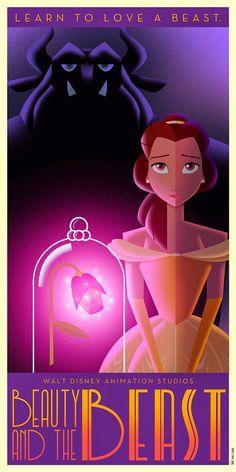 Disney Art Déco series ~ De volta ao retrô  David G. Ferrero