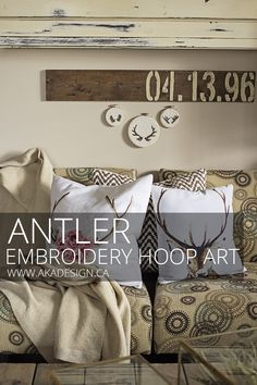ANTLER EMBROIDERY HO