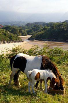 Playa de Po, LLanes, Asturias Spain